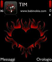 Скриншот к файлу: <b>Tribal Heart Red by babi</b>