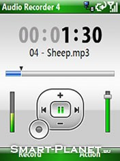 Скриншот к файлу: <b>Resco Audio Recorder</b>
